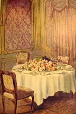 Come ricevere ospiti a cena paperblog for Edwardian table setting