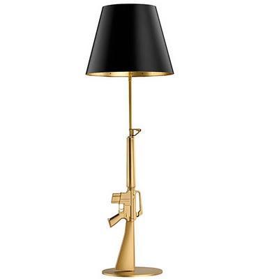 flos gun collection by philippe starck la lampada con il grilletto paperblog. Black Bedroom Furniture Sets. Home Design Ideas