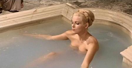 Il cinema a mollo- le dive nude sotto la doccia
