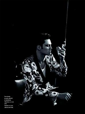 Dolce & Gabbana su Vogue Hommes International S/S 10