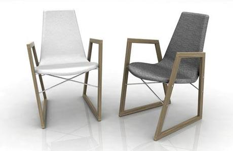SALONE DEL MOBILE | Horm , Ray chair by Orlandini Design