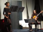 FramEnsemble: Lucia D'Errico, chitarra Michela Caser, flauto