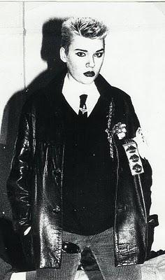 Edwige Belmore, the last punk