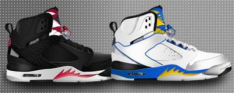 Set di 4 icone con tema le Nike Air Jordan 60 Plus