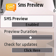 SMS Preview
