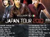 Rock italiano Giappone: Zephiro tour