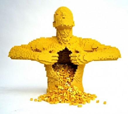 The art of the brick: Nathan Sawaya