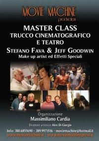 La  Movie  Machine presenta  MASTER CLASS TRUCCO EFFETTI SPECIALI CINEMA E TEATRO