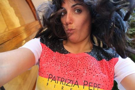 Presenting my Patrizia Pepe Tflag shirt