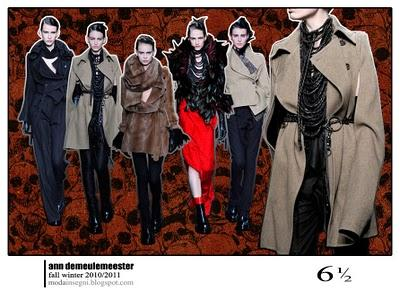 Le pagelle: ANN DEMEULEMEESTER FALL WINTER 2010 2011