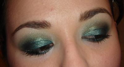 Ever green look by KKM