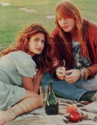 Couples: Axl Rose & Stephanie Seymour