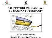 """pittori toscani cantanti toscani"""" cura Filippo Lotti"""