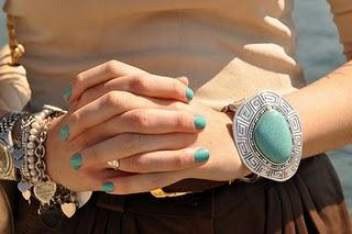 Color of season.. turquoise!