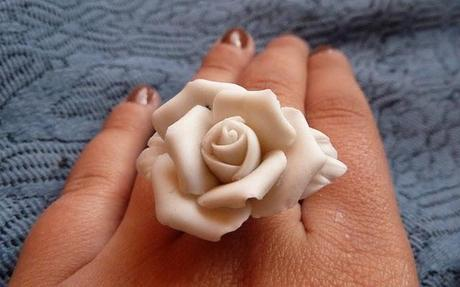 another DIY!! rose on a ring!