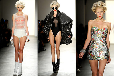 Jeremy Scott SS 2011 ed il Prosciutto Dress !!!