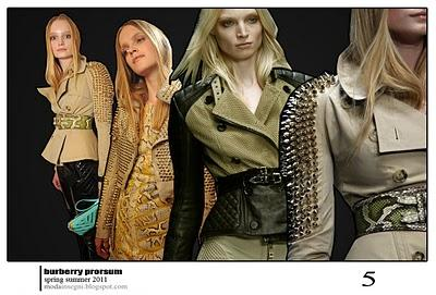 Le pagelle: BURBERRY PRORSUM SPRING SUMMER 2011 (+ VIDEO)