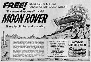 Moon Rover Cut Out