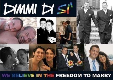 Dimmi di Si. La campagna per la libertà di sposarsi.
