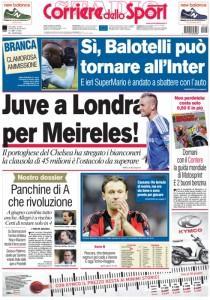 Ecco le prime pag della Gazzetta, Corriere dello Sport e Tuttosport !