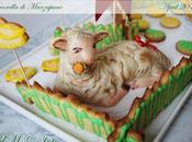 Pecorella marzapane ripiena pistacchio