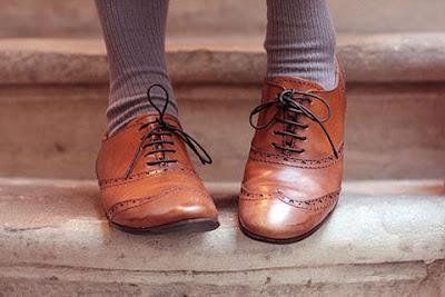 A walk with my oxford shoes.