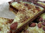 Crostata farina castagne all'amaretto crema ricotta