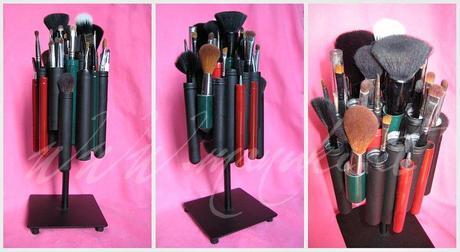 Progetto diy porta pennelli da tubi per sigari paperblog - Porta pennelli fai da te ...