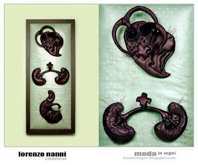 Lorenzo Nanni Creations: abyss, anatomy, botany and organic forms