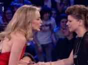 Amici serale: Sharon Stone commuove Alessandra Amoroso