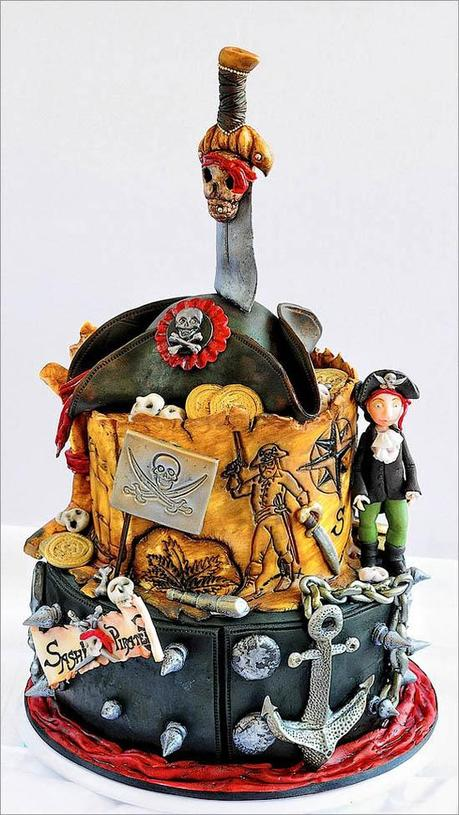 Cake design decorare le torte in modo artistico paperblog for Art e decoration rivista