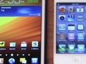 Samsung Galaxy Note iPhone Apple