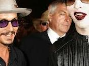 Marilyn Manson palco Johnny Depp (video)