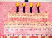 Carta stoffa buon compleanno