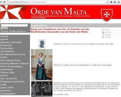 Il Vero Potere: Ancora prove della connessione tra Bilderberg e Cavalieri di Malta