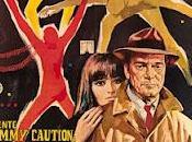 Agente Lemmy Caution, missione Alphaville Jean-Luc Godard (1965)