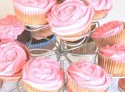 Cupcake alla fragola frosting philadelphia