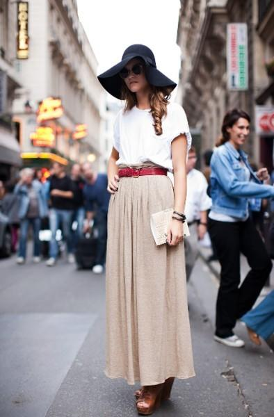 Fashion Bloggers Trends: How to Wear.. a Maxi Skirt