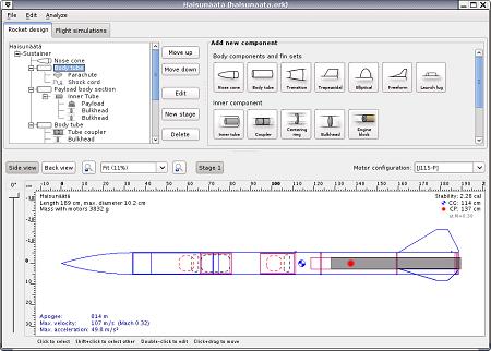 Simulare la costruzione e il lancio di un razzo modello for Software di progettazione di layout di costruzione gratuito