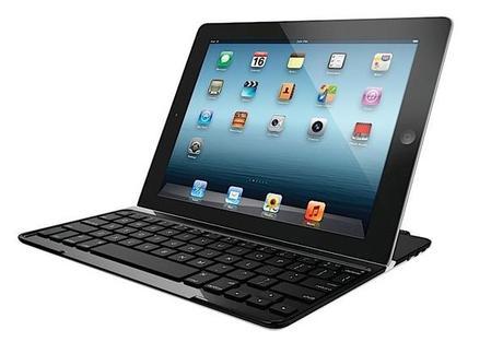 Logitech presenta la nuova cover con tastiera ultrasottile integrata per il nuovo iPad