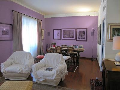 L 39 architetto risponde colore pareti soggiorno paperblog for Parete colorata soggiorno