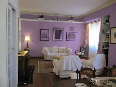 L 39 architetto risponde colore pareti soggiorno paperblog for Tende lilla glicine