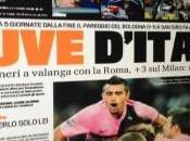 Foto ecco l'anteprima della prima pagina gazzetta dello sport,clamoroso:per panchina dell'inter c'e'..