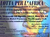 "lotta l'Africa"", resoconto, foto video"