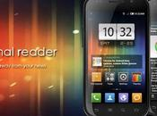 Minimal Reader widget minimale Feed preferiti
