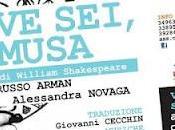 Spettacolo Teatro/Musica DOVE MUSA Venerdì Sabato Aprile 20.30