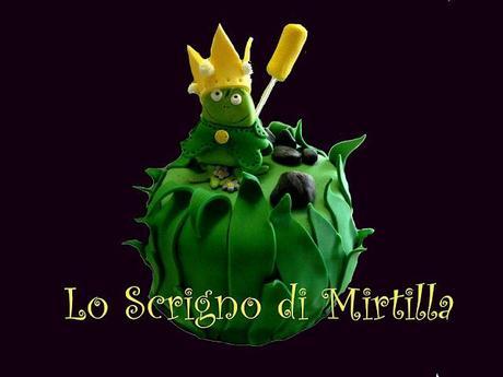 Torta decorata con pasta di zucchero Il Principe Ranocchio - Paperblog b92c5b3ff732