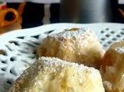 Angel peach cake, elegant side breakfast