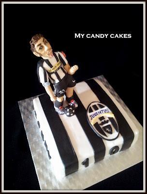 Juve Cake Con Del Piero Torta Della Juve Paperblog