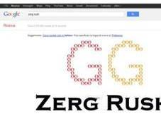 Zerg Rush: gioco gratuito all'interno motore ricerca Google